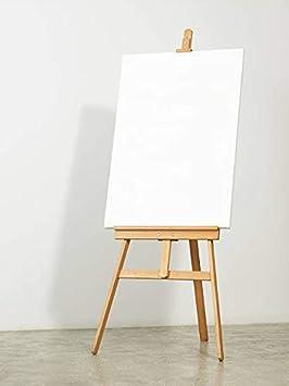 Amazinggirl Caballete Pintura ni/ños Caballete plegeable tripode Pintura Pino De Tres Patas Regulable en Altura 150 cm