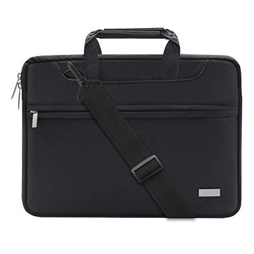 MOSISO Polyester Laptop Shoulder Bag Compatible 15-15.6 Inch...