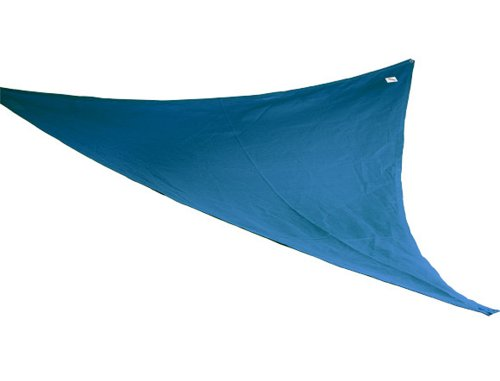 Coolaroo Kool Kolors Party Sail 9 Feet 10 Inch Triangle - Blue