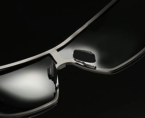 RAINBOW SAFETY Negro Polarizadas Sol Gafas Hombres de Al 3 Mg Visión Nocturna Cat Marco RWNP3 rrwZqd7x