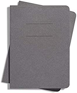 product image for Shinola Journal, Paper, Plain, Urban Gray (3.75x5.5): Pack of 2