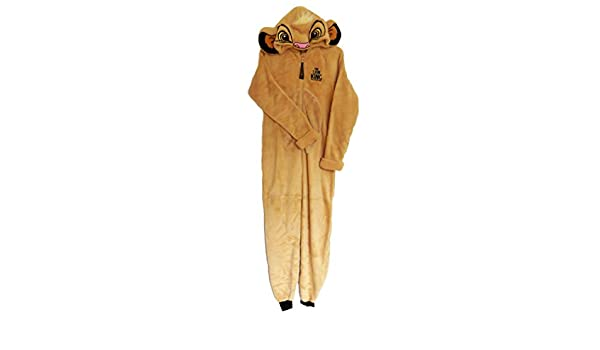 Love to Lounge Simba Onesie Disfraz de Rey León para Bebé Disfraz marrón Simba Brown Adulto XL: Amazon.es: Ropa y accesorios