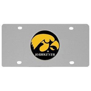 NCAA Iowa Hawkeyes Steel License -