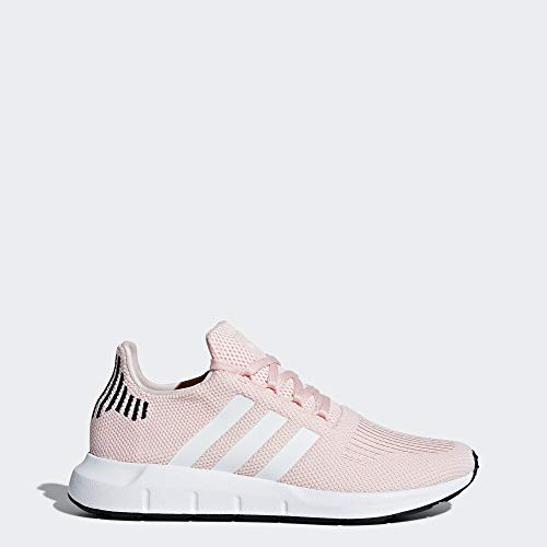 adidas Originals Women's Swift Running Shoe, ice Pink/White/Black, 7.5 M US
