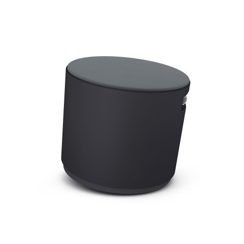 Turnstone by Steelcase Buoy, Graphite Fabric, Black
