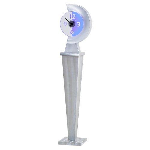 Nova Lighting Centrix Clock, 65 by 11 by (Aluminum Floor Clock)