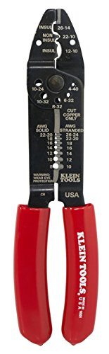 092644744013 - Klein Tools 1001 Multi-Purpose Electrician's Tool 8-22 AWG Red 8 1/2 Inches carousel main 1