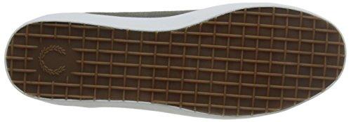 Fred Perry Sneaker Hombre Men Shoe Kingston Tennis Suede Mid Grey