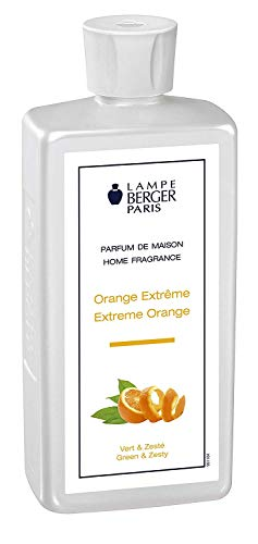 Extreme Orange | Lampe Berger Fragrance Refill for Home Fragrance Oil Diffuser | Purifying and perfuming Your Home | 16.9 Fluid Ounces - 500 millimeters | Made in France