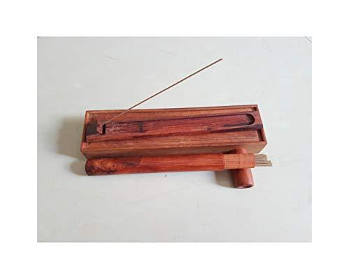 vonggohoanggia 10psc Wooden Box - Viet NAM Agarwood Aloeswood Incense Sticks 21cm 20g net About 100 Sticks ()