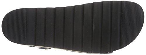 Nero P1 Con nero Sandali nero P1 Platea 141001 Donna YOataqrw