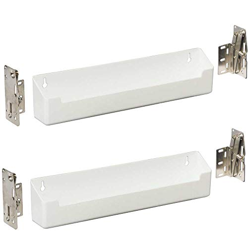 K&A Company Sink Front Storage Tray Kit (Set of 2), 11'' x 3'' x 2'' x 3 lbs, 11 Inch by K&A Company (Image #1)