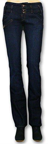 Amelie Denim L34 Brut Freeman Stretch Droit Jeans awx5SqP