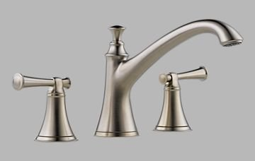 Nickel Roman Tub Faucet Trim ()