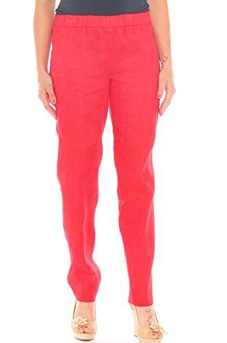 Rojo Luanaromizi Mujer Luanaromizi Para Pantalón Pantalón qU71x78X
