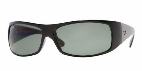Ray-Ban - Gafas de sol RB 4108 Shiny Negro(oz)(601): Amazon ...