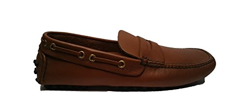 Car Shoe pelle KUD007 cognac (40 eu)