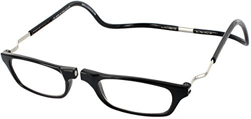 Clic Magnetic XXL Reading Glasses in black, +1.75 ()