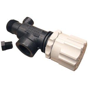 TeeJet 23120-3/4-PP Pressure Relief Valve Polypropylene Farmer Bob's Parts 23120-3/4-PP from TeeJet Technologies