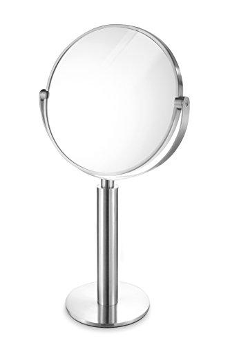 Zack 40114 Felice Standing Mirror, 1 Side Enlargement by a Factor of -