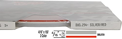 (Universal Duo-Tone 0204294 - Auto Customizing 2-Color Dual Pinstripe - 4/16