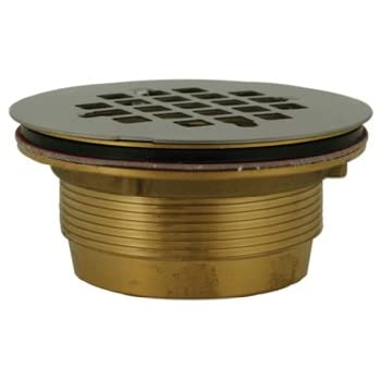 Oatey 42099 101 Pnc Pvc No Calk Shower Drain With