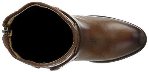 Frye Botas de Tabitha de arnés de corto para las mujeres Cognac-77944