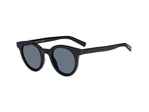 Christian Dior Homme Men's Black Tie 218S 218/S 807/2K Black Sunglasses 47mm