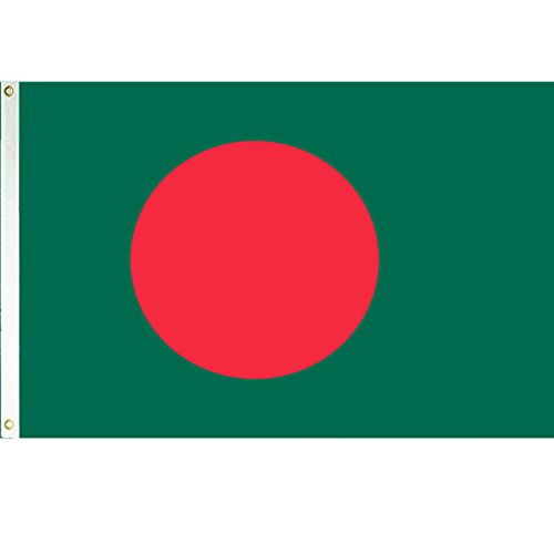 Vista Flags 3x5 Bangladesh Flag Country Banner Asian Pennant ()
