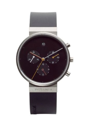 Jacob Jensen 600 Mens Chronograph Black Watch