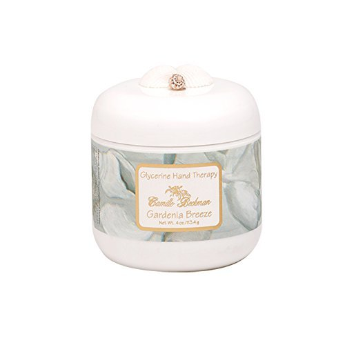 Camille Beckman Glycerine Hand Therapy, 4 Oz. Jar, Gardenia Breeze by Camille Beckman
