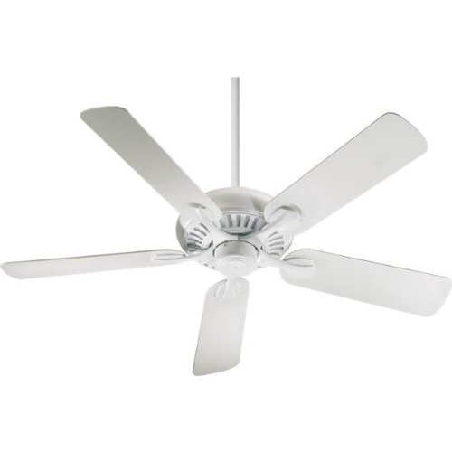 Quorum 191525-8, Pinnacle Patio Studio White Energy Star 52'' Outdoor Ceiling Fan by Quorum