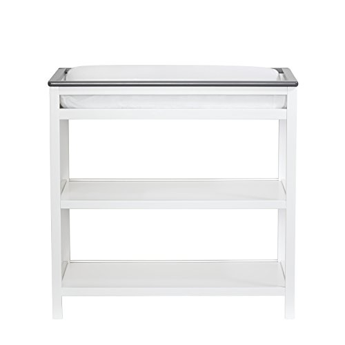 Suite Bebe Brooklyn Changing Table White/Grey by Suite Bebe