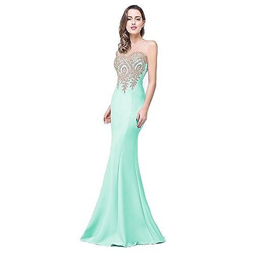 Mint Green Prom Dress Amazon