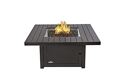 Napoleon Grills Square St. Tropez Patioflame Table, Rustic Bronze