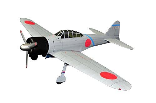 スタジオミド 零戦21型戦闘機 ゴム動力模型飛行機キット BF-002