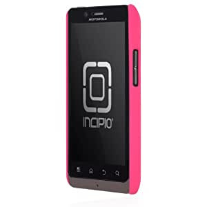 Incipio Motorola DROID BIONIC feather Ultralight Hard Shell Case - 1 Pack - Retail Packaging - Magenta