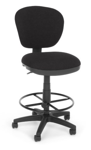 OFM 150-DK-126 Lite Use Computer Task Stool with Drafting Kit (Drafting Use Chair Lite)