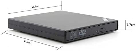 USB 2.0 External CD//DVD Drive for Compaq presario cq60-417nr
