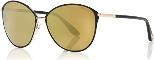 Sunglasses Tom Ford PENELOPE TF 320 FT 28G shiny rose gold / brown ()