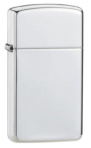 Zippo Slim - High Polish Lighter - Sterling Silver ()