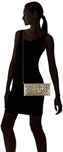 L.Credi Dancing Queen - Borse a tracolla Donna, Gold, 1x12,5x26,5 cm (B x H T)