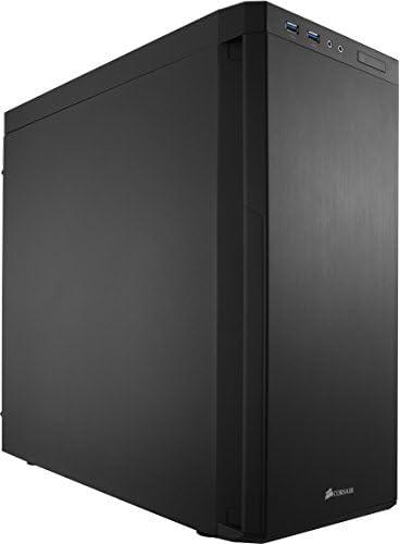 Corsair Carbide 330R - Caja de PC, Mid-Tower ATX, sin Ventana, Silencioso insonorizado, Negro
