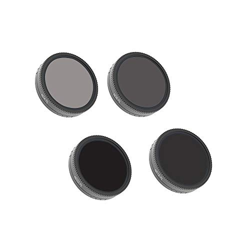 Belloc 2019 4PC ND4-PL+ND8-PL+ND16-PL+ND32-PL Camera Lens Filters For DJI Osmo Action Camera