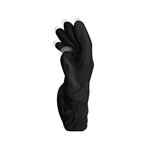 Fukuoku Black Right Hand Five Finger Vibrating Massage Glove - (fits Medium To Large Hand)