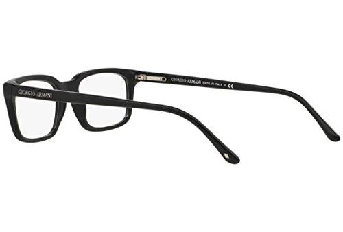 Giorgio Armani Montures de lunettes 7056 Pour Homme Matte Black, 51mm 5042: Matte Black