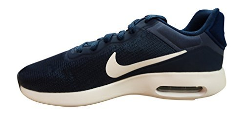 nike air max modern essential mens running trainers 844874 sneakers shoes (US 13, midnight navy white 401)