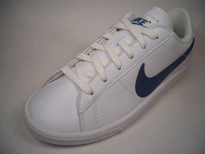 Nike Tennis Classic Leather 312803-144 Weiß-Blau Größe Euro 38 / US 5,5Y / UK 5 / 24 cm