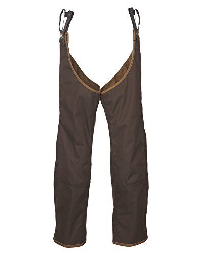 Upland Brush Pants - Woolrich Men's Thornrich Sporting Briar/Brush/Upland Chaps, BARK (Brown), Size SM