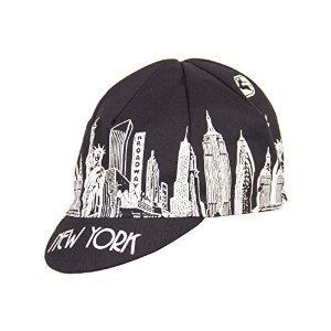 Giordana 2017 New York City Landmarks Cycling Cap - GI-S5-COCA-TEAM-NYCL (Black/White - One Size)